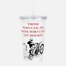 dirt bike Acrylic Double-wall Tumbler