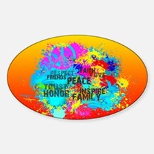 Bright Burst of Colorful Inspiration Decal