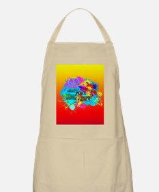 Bright Burst of Colorful Inspiration Apron