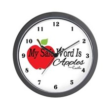 Safe Word Wall Clock
