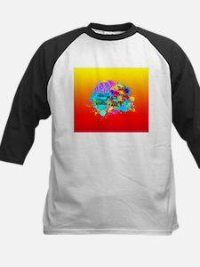 Bright Burst of Colorful Inspirati Baseball Jersey