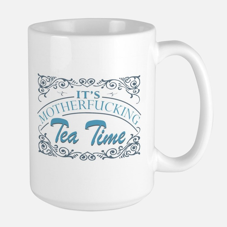 Motherf'er Tea Time Mugs