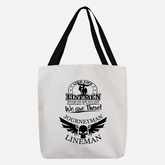 line life journeyman Polyester Tote Bag