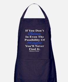 Believe In Magic Apron (dark)