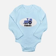Funny Simple kids and Long Sleeve Infant Bodysuit