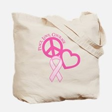PINK RIBBON (both sides) Tote Bag