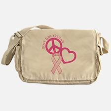 PINK RIBBON Messenger Bag