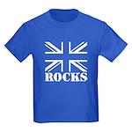 Britain Rocks Kids Dark T-Shirt