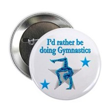 "GYMNAST FOREVER 2.25"" Button"