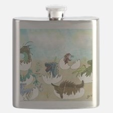 Cute Dragon fantasy Flask