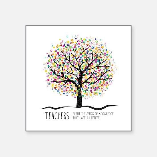 Teacher appreciation quote Sticker