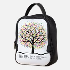 Teacher appreciation quote Neoprene Lunch Bag