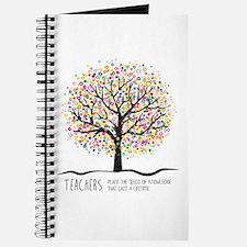 Teacher appreciation quote Journal
