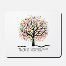 Teacher appreciation quote Mousepad