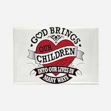 Adoption Tattoo Rectangle Magnet (100 pack)