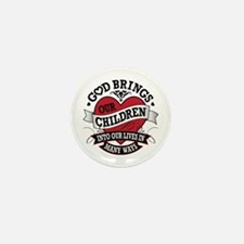 Adoption Tattoo Mini Button (10 pack)