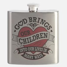 Adoption Tattoo Flask