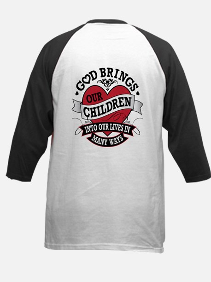 Adoption Tattoo Kids Baseball Jersey