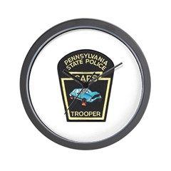 PA State Police CARS Wall Clock