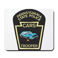 PA State Police CARS Mousepad
