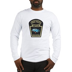 PA State Police CARS Long Sleeve T-Shirt