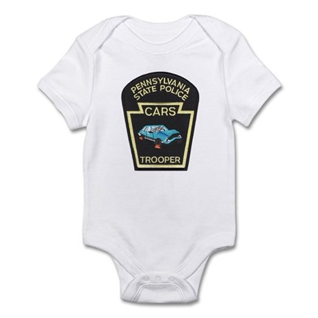 PA State Police CARS Infant Bodysuit