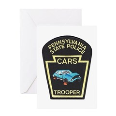 PA State Police CARS Greeting Card
