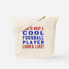Foosball Player Looks Like Tote Bag