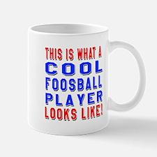 Foosball Player Looks Like Mug