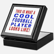 Foosball Player Looks Like Keepsake Box