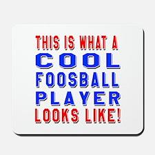 Foosball Player Looks Like Mousepad
