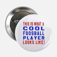 "Foosball Player Looks Like 2.25"" Button"