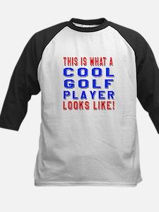 Golf Player Looks Like Tee