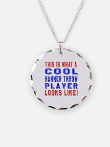 Hammer Throw Player Looks Li Necklace