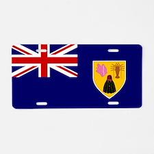 Turks and Caicos Islands Aluminum License Plate