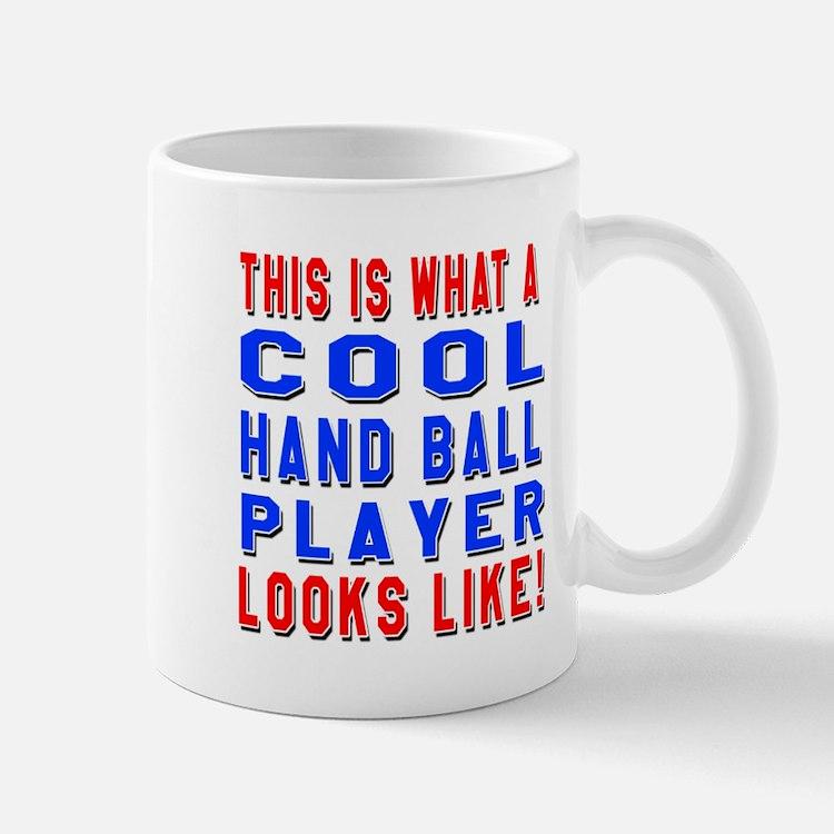 Handball Player Looks Like Mug
