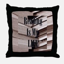 Reading Is My Life Throw Pillow