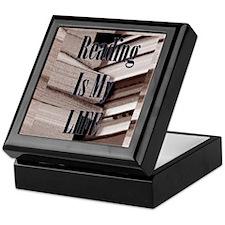 Reading Is My Life Keepsake Box