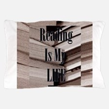 Reading Is My Life Pillow Case