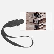 Reading Is My Life Luggage Tag