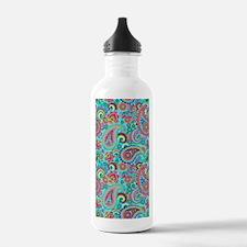 Retro Colorful Vintage Water Bottle