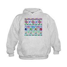 Colorful Tribal Geometric Pattern Hoodie