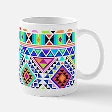 Colorful Tribal Geometric Pattern Mugs