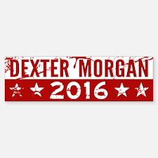 Dexter Morgan 2016 Bumper Bumper Bumper Sticker