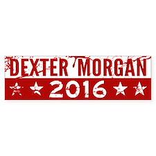 Dexter Morgan 2016 Bumper Bumper Sticker