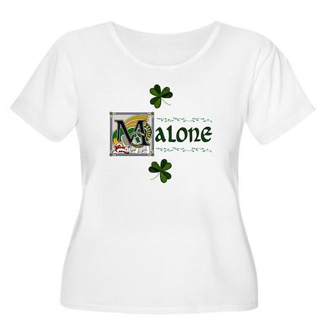 Malone Celtic Dragon Women's Plus Size Scoop Neck