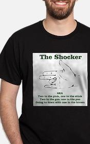 Unique The shocker T-Shirt