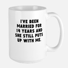 Ive Been Married For 14 Years Mugs