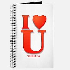 I Love You Valentine Day Journal