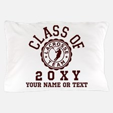 Class Of 20?? Girl Lacrosse Pillow Case